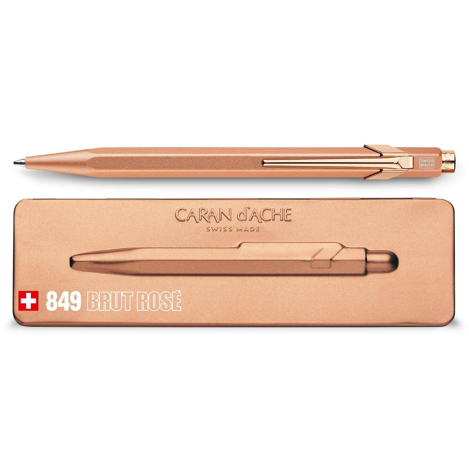 Carandache Office 849 Brut Rose - шариковая ручка, M