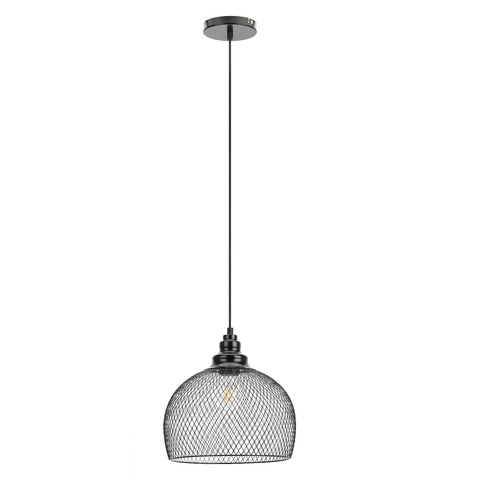 Подвесной светильник Эра PL7 BK черный
