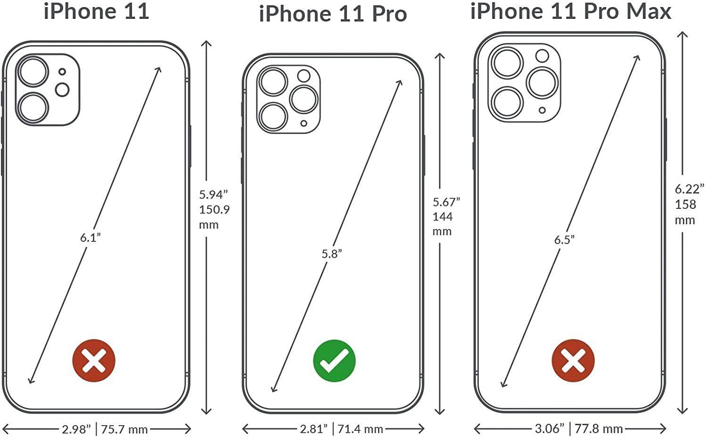 case iphone 11 pro - python purple