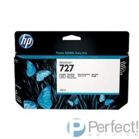HP B3P23A Картридж №727, Photo Black {Designjet T920/T1500, Photo black (130ml)}
