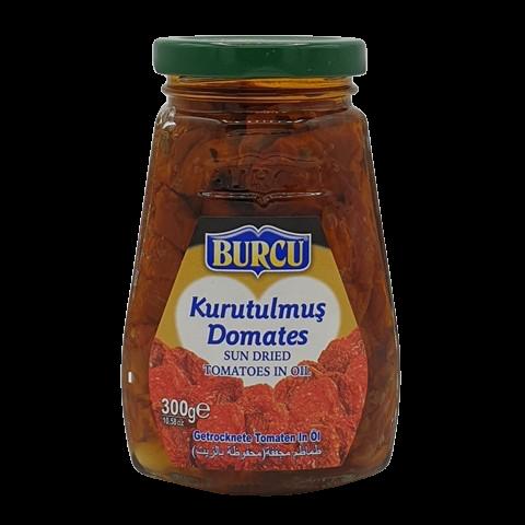 Томаты сушёные в подсолнечном масле BURCU, 300 гр