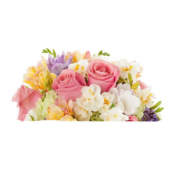 Водорастворимая бумага Цветы в корзину