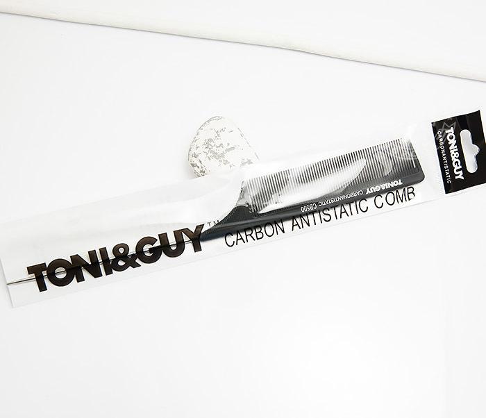 RAZ277 Профессиональная карбоновая расческа с металлическим стержнем Tony and Guy фото 03
