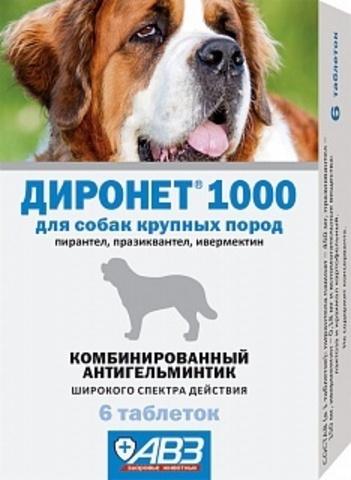 Диронет для собак крупных пород