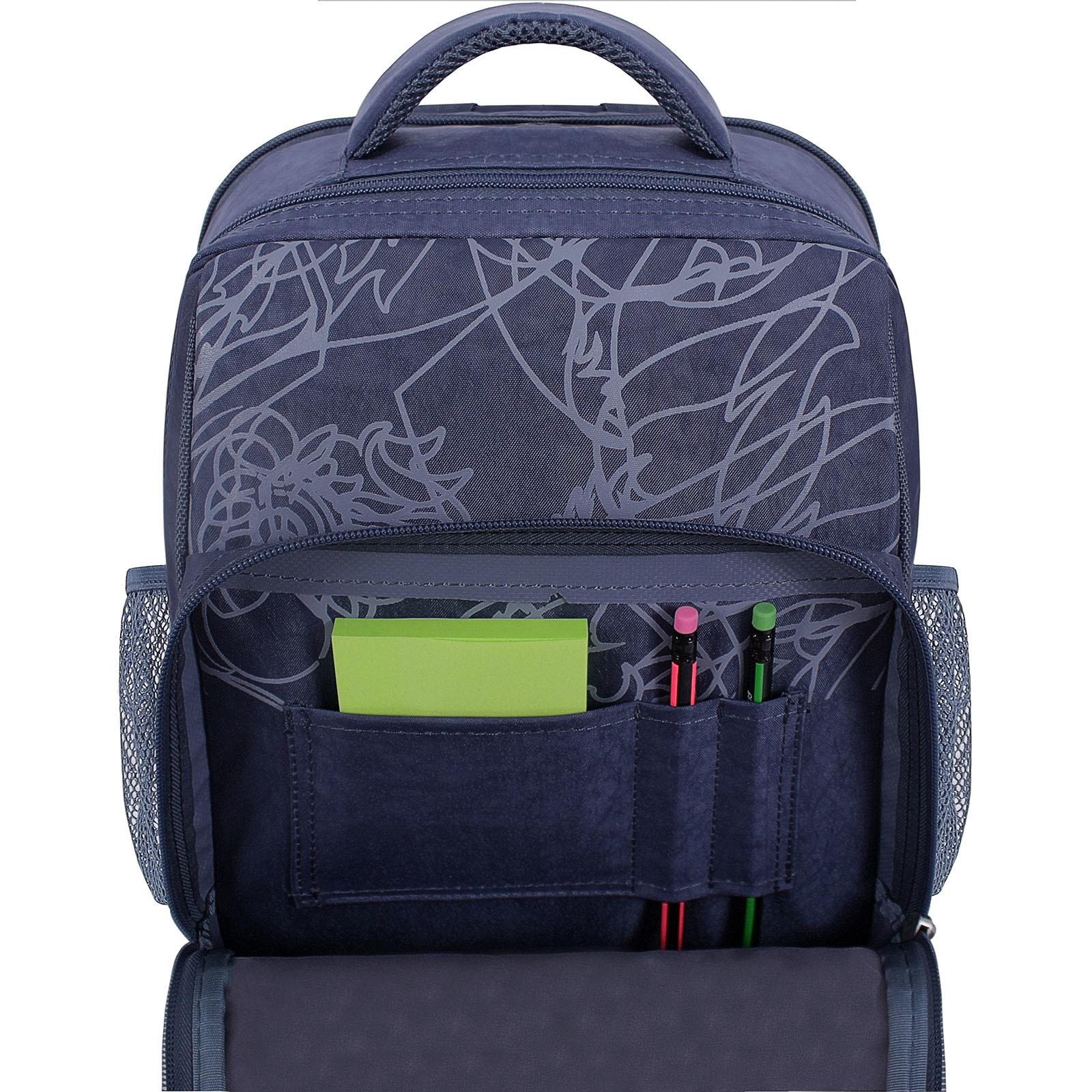 Рюкзак школьный Bagland Школьник 8 л. 321 серый 506 (0012870) фото 4
