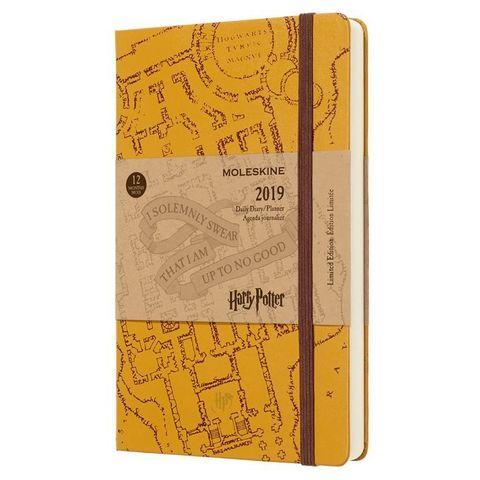 Ежедневник Moleskine Limited Edition HARRY POTTER Large 130х210мм 400стр. бежевый