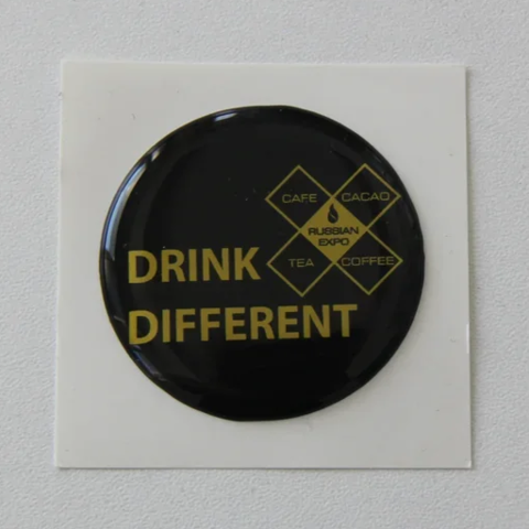 Наклейки drink different (black)