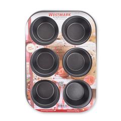 Форма для выпечки маффинов (6 штук), сталь с антипригарным покрытием, серия Baking, 32882270, Westmark, Германия