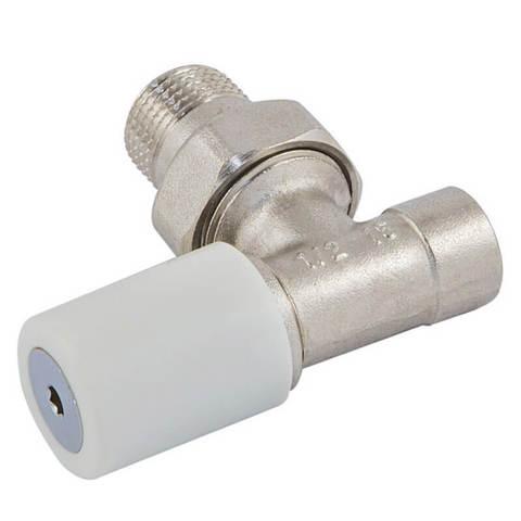 Ручной вентиль под пайку, угловой, DN 15 1/2 GZ * 15 mm