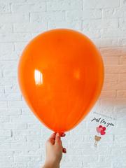 Воздушный шар оранжевый кристалл