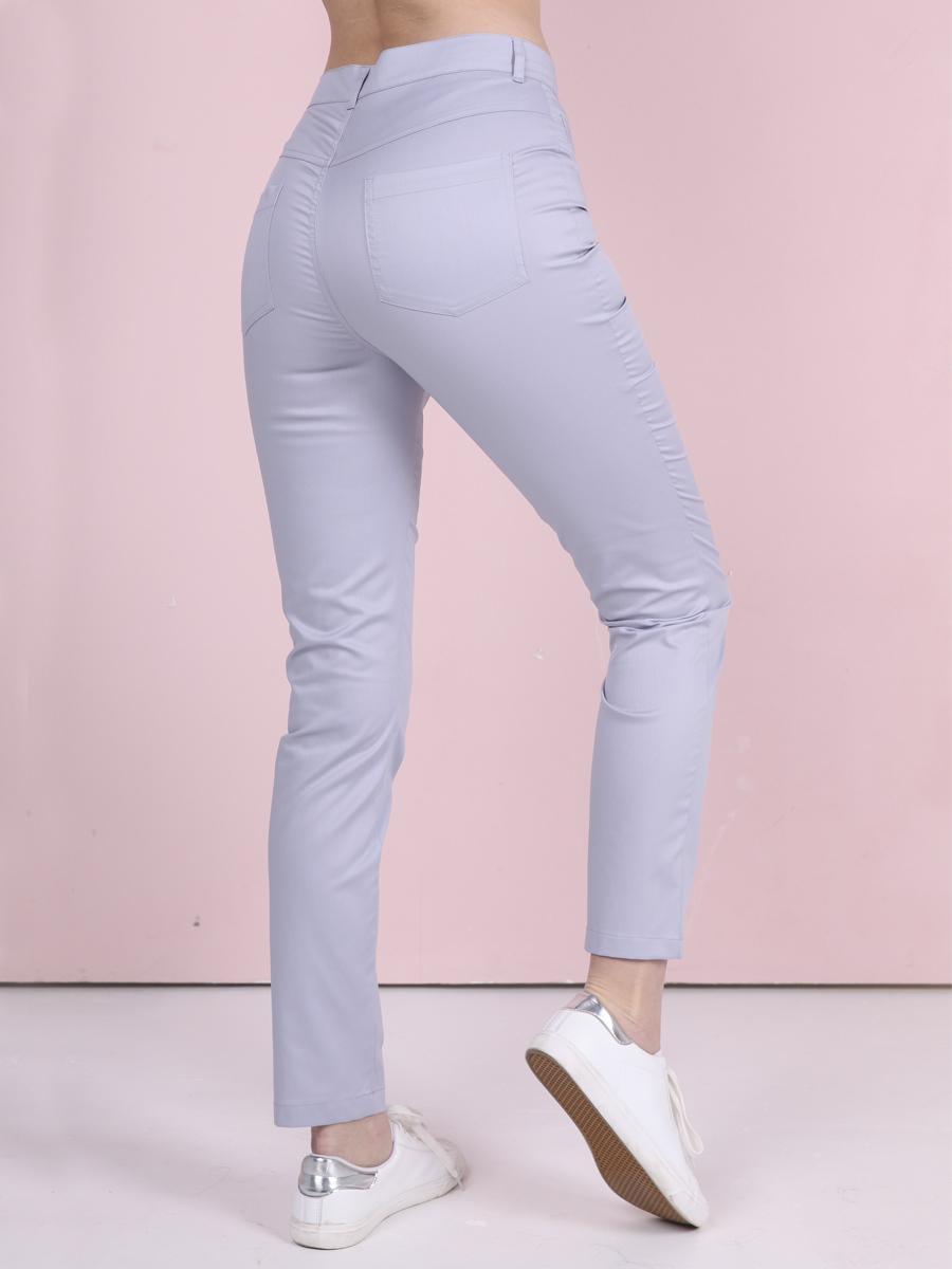 Медицинские джинсы Б-118 MediS.moda светло серые