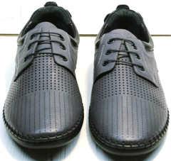 Мужские спортивные туфли с перфорацией Ridge Z-430 75-80Gray.
