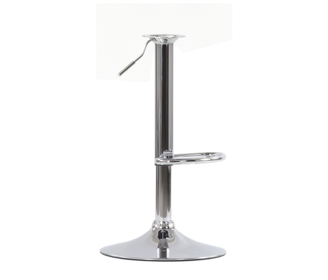 Ножка (основание, каркас) барного стула в сборе, газлифт, на базе D-385 мм, регулировка высоты 56-76 см, вращение 360°, хром