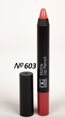 OG-FP3011B Помада-карандаш тон 603 пепел розы МАТОВАЯ Matte Lip Pencil PRO