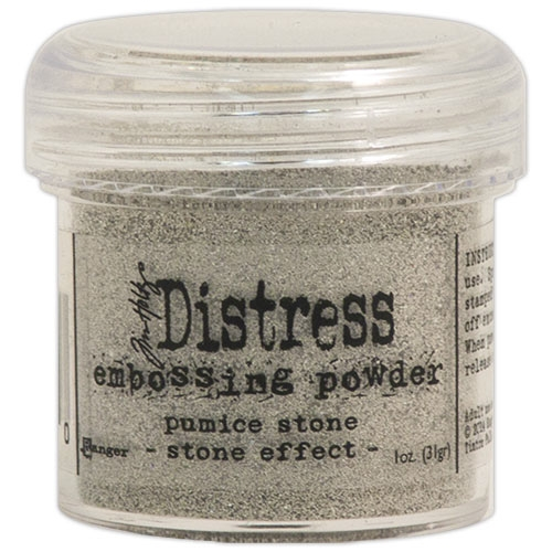 Пудра для эмбоссинга Tim Holtz® Distress Embossing Powders - Pumice Stone