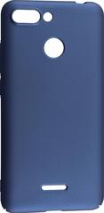 Прорезиненный чехол Monarch для Xiaomi Redmi 6 Синий