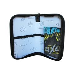 Пенал  1- секционный 200*130*20мм SMART POCKET (откидной карман)