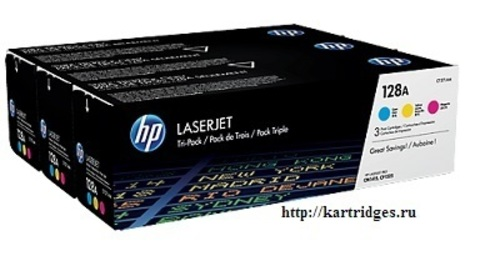 Картридж Hewlett-Packard (HP) CF371AM №128A