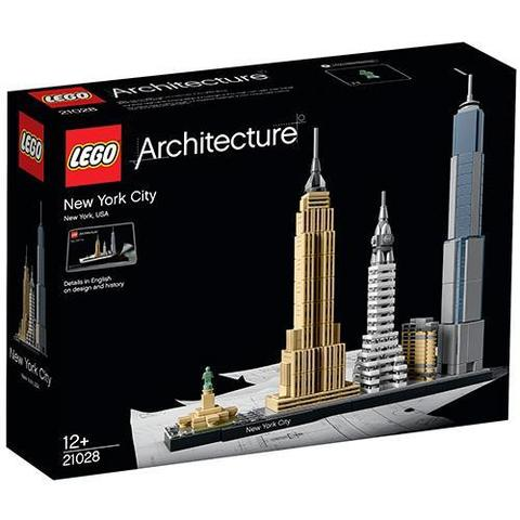 LEGO Architecture: Нью-Йорк 21028 — New York City — Лего Архитектура