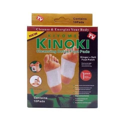 Пластырь-детокс для выведения токсинов Kinoki