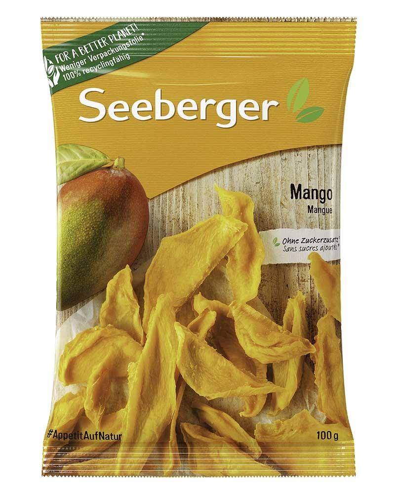 Манго Seeberger Сушеный, Дольки 100 гр.