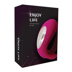 Вибростимулятор для двоих «Enjoy Life»
