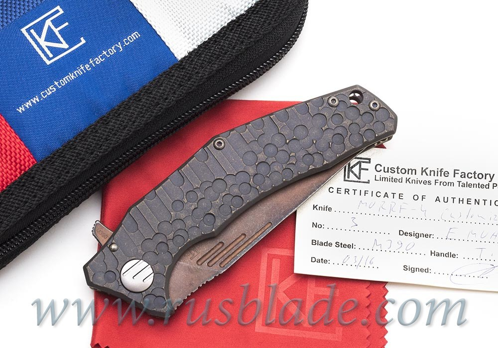 CKF Customized Morrf Knife #3 one-off