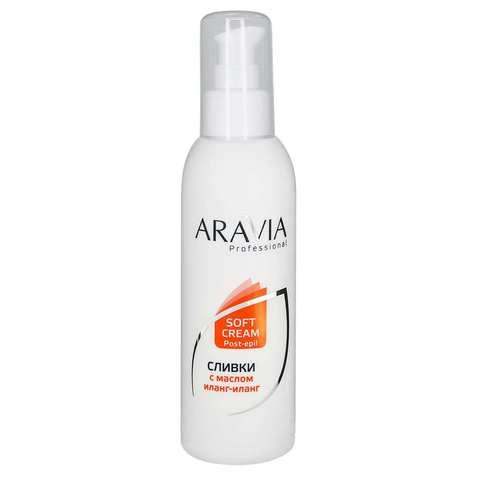 Сливки для восстановления рН кожи с маслом иланг-иланг ARAVIA Professional