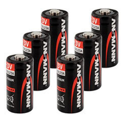 Батарейка ANSMANN CR123A Lithium Premium - 50 штук