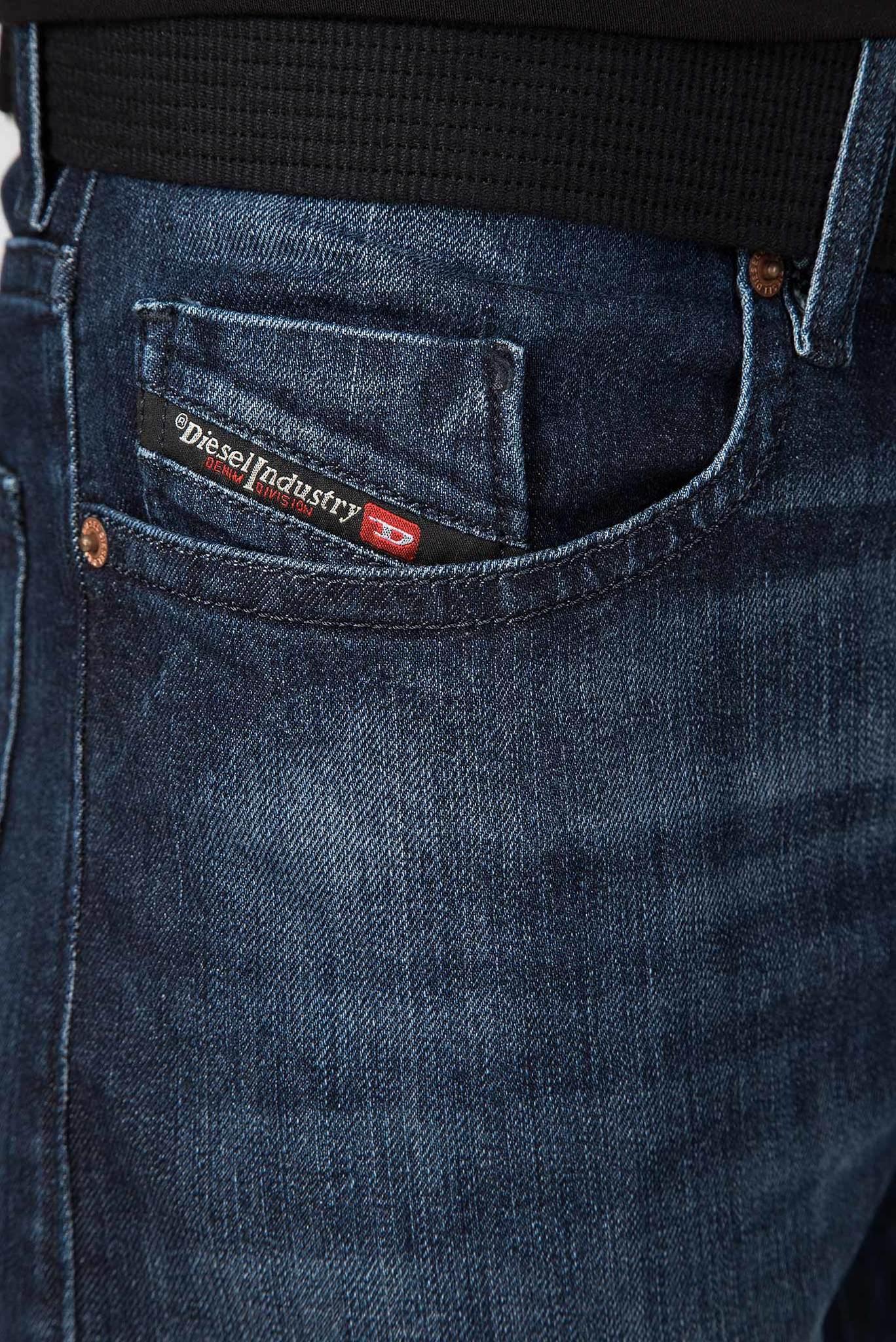 Мужские темно-синие джинсы BUSTER Diesel