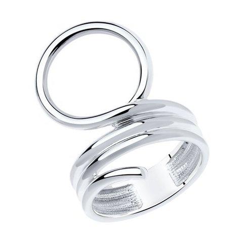 94013111 - Кольцо из серебра SKLV | Каффы и клаймберы
