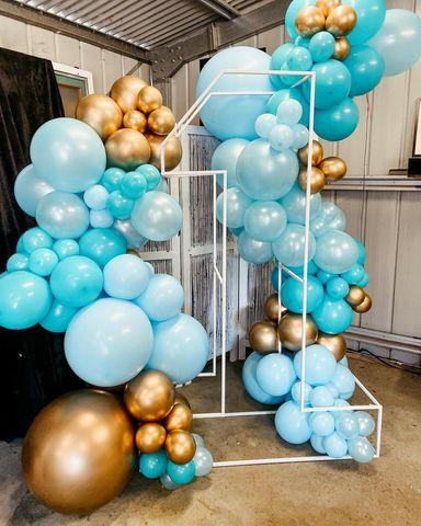 Фотозоны из шаров Москва