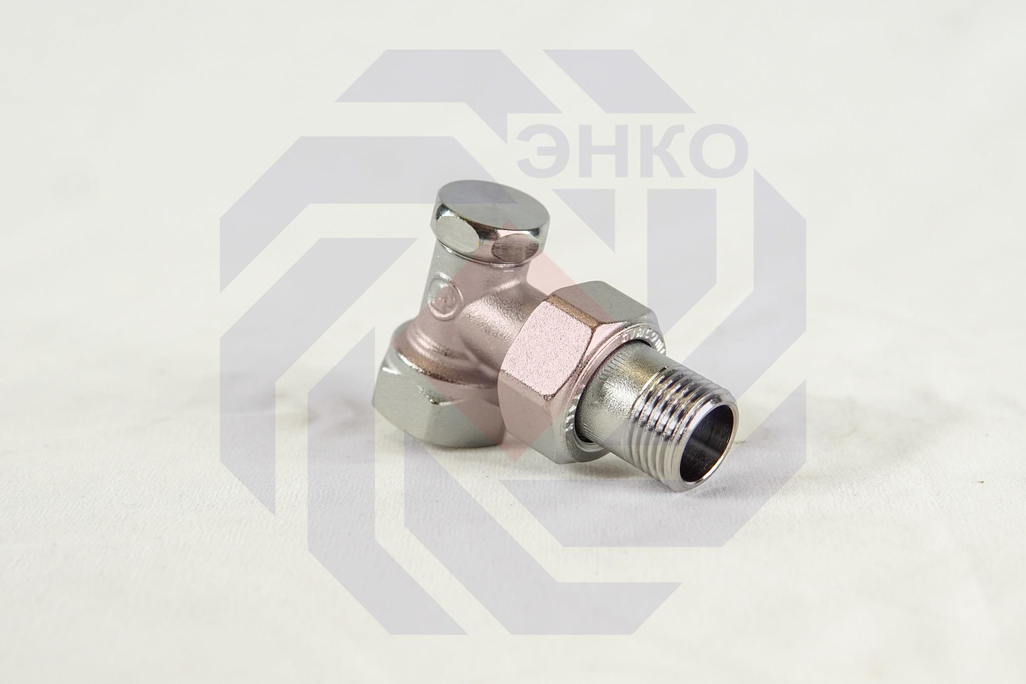 Клапан радиаторный отсечной GIACOMINI R16D2 угловой ½