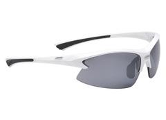Очки спортивные BBB Impulse PC Smoke flash mirror lens black tips white