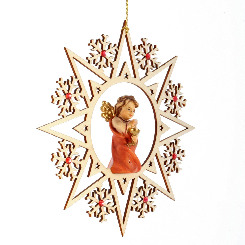 Ангел с чашей со стразами Сваровски