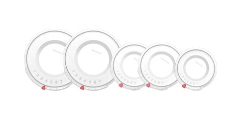 Крышка пластиковая UNICOVER, 5шт. для наборов кухонной посуды ULTIMA, PRESIDENT, VISION