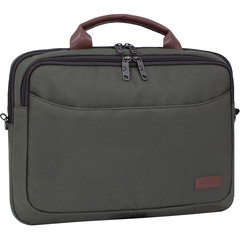 Сумка для ноутбука Bagland Fremont 11 л. Хаки (0042766)