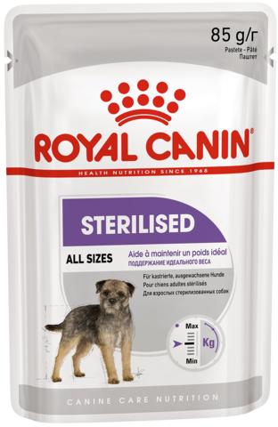 Паштет Royal Canin Sterilised Canine для стерилизованных собак 85г