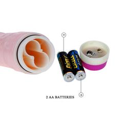 Вибромассажер стимулятор точки G розового цвета