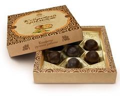 Грильяж кедровый, Сибирский Кедр, в шоколаде, Облепиха, 120 г