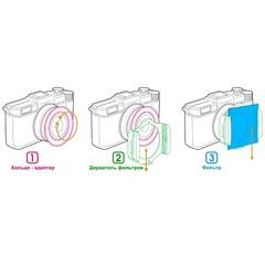 Адаптер Fujimi для фильтров Cokin Р series 52mm