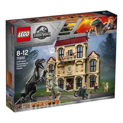 LEGO Jurassic World: Нападение индораптора в поместье Локвуд 75930 — Indoraptor Rampage at Lockwood Estate — Лего Мир юрского периода