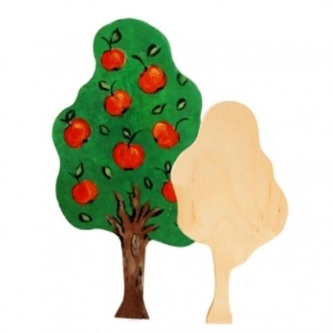 057-3528  Дерево для росписи, заготовка. 18 см