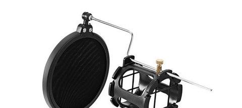 Стойка для микрофона с поп фильтром 170см