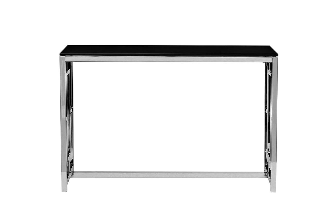 Консоль черное стекло/хром (GY-CST2051212) Garda Decor