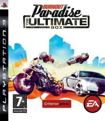 Burnout Paradise - The Ultimate Box (PS3, английская версия)