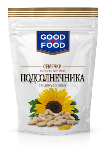 GOOD FOOD Семечки подсолнечника сушёные 150 г