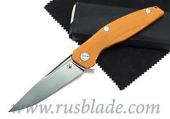 Shirogorov 111 S30V G10 orange 3D MRBS