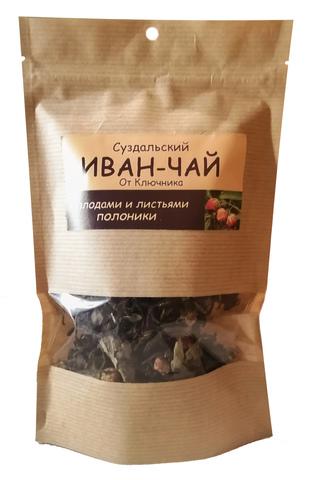 Иван-чай суздальский «с плодами и листьями полоники»