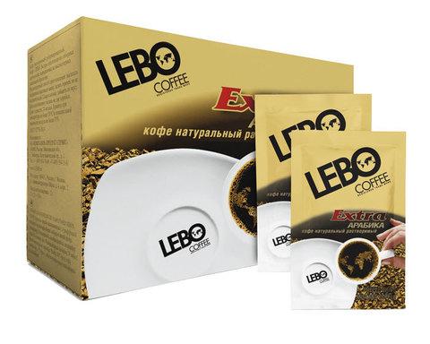 купить Кофе растворимый LEBO Extra, 25 саше по 2 г